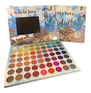 Paletas De Sombras Kayla Love 63 Colores Mayoreo Waterlight