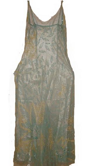 Vestido De Fiesta Estrella Talla L(mangosteen Moda Española)