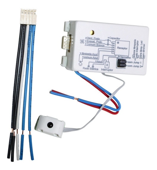 Receptor Controle Remoto Ventilador Pw (só O Módulo).
