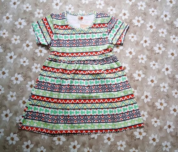 Vestido Infantil Menina Bebê Festa Aniversário Verão