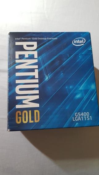 Processador Intel 8° Geração G5400 Gold