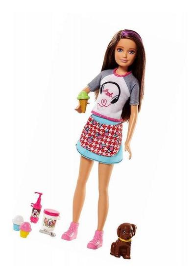 Morena Irmãs Skipper Cyb Barbie - Mattel Fhp62