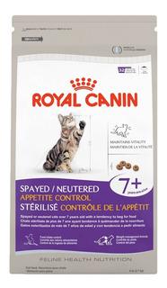 Royal Canin Spayed Neutered Appetite Control 7+ 2.7 Kg Gato - Nuevo Original Sellado