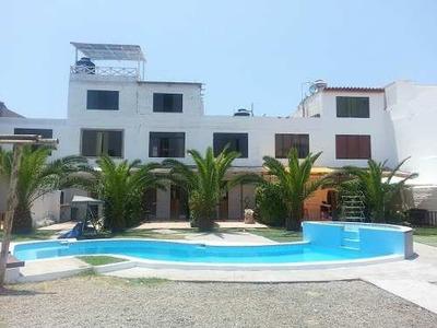 Venta Casa De Playa En Condominio Con Piscina