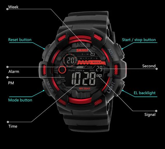 Relógio Masculino Sport + Caixa + Frete Gratis
