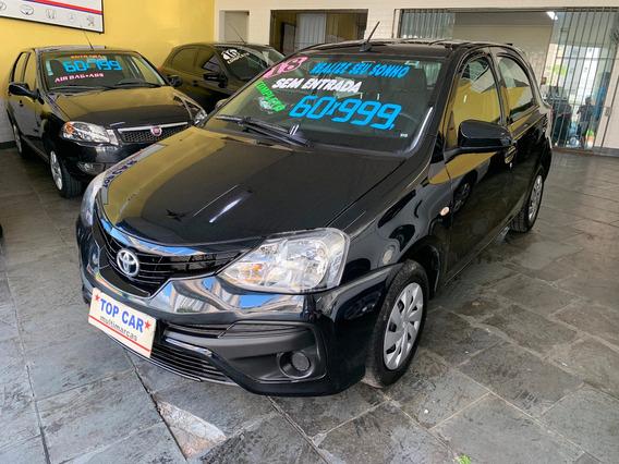 Toyota Etios 1.3 (flex) 2018 5p Sem Entrada