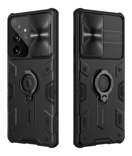 Imagen 1 de 5 de Estuche Antichoque Armor Camshield Samsung S21 Ultra 5g