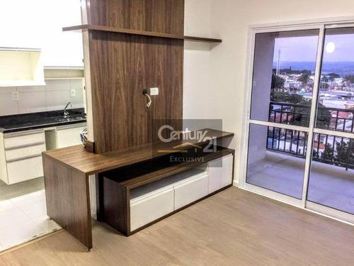 Apartamento Para Venda Mobiliado E Com Sol Da Manhã! No Condomínio Mais Desejado De Indaiatuba  Jardim América - Edifício Class - Ap0256