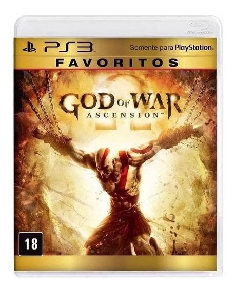 God Of War Ascension Ps3 Mídia Física Original Favoritos