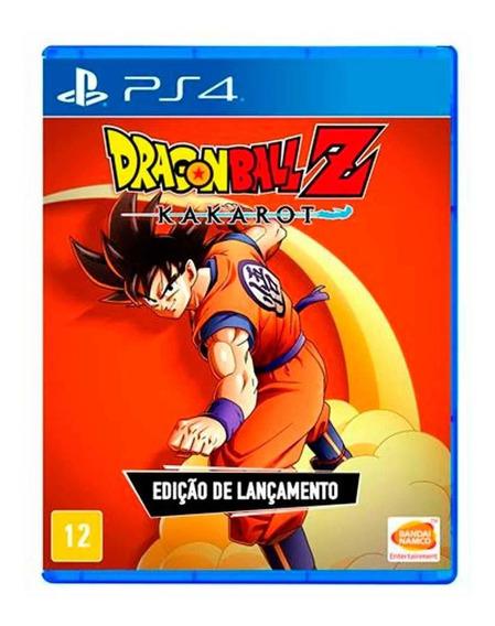Dragon Ball Z Kakarot Ps4 Mídia Física Pronta Entrega