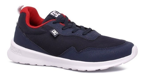 Tênis Dc Shoes Hartferd Adys700140l Azul/vermelho