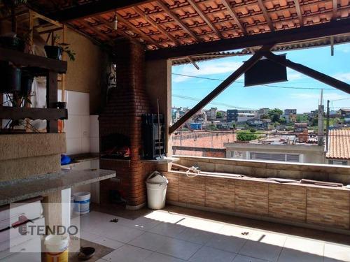 Imagem 1 de 21 de Imob03 - Sobrado 300 M² - Venda - 4 Dormitórios - 2 Suítes - Jardim Varan - Suzano/sp - So0730