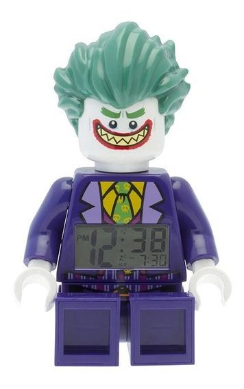Reloj Despertador Lego The Joker O9009341 Outlet