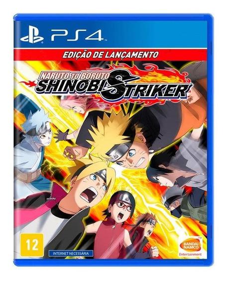 Naruto To Boruto Shinobi Striker Edição De Lançamento Ps4