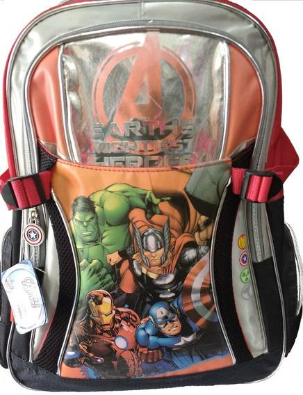 Mochila Avengers 18 Sp 086 De Espalda