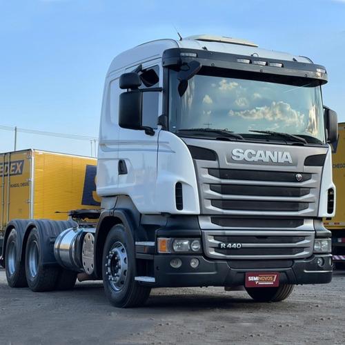 Imagem 1 de 9 de Scania R440 Ano 2013/13 6x4