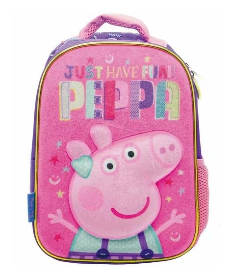 Mochila Peppa Pig Jardin Espalda 12 PuLG Envio Casa Valente