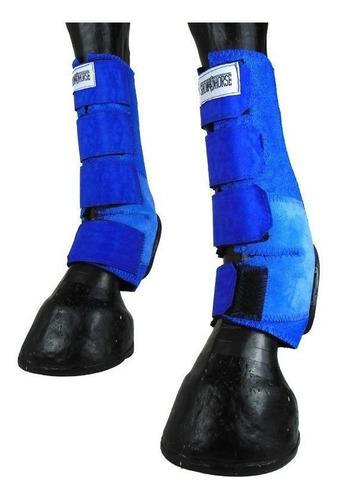 Imagem 1 de 5 de Skid Boot Caneleira Traseira Longa Azul