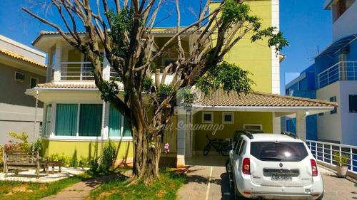 Casa Com 4 Dormitórios À Venda, 470 M² Por R$ 1.750.000,00 - Camboinhas - Niterói/rj - Ca0215