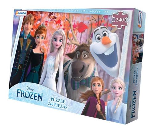 Imagen 1 de 3 de Puzzle 240 Pzas Princesas Disney Store Rompecabezas Juego