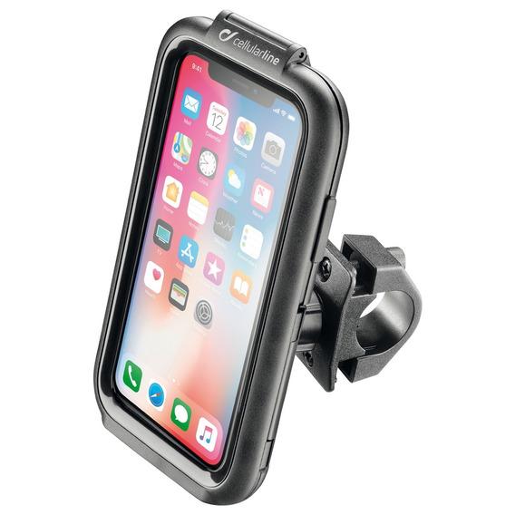 iPhone X Suporte Moto Celular Interphone