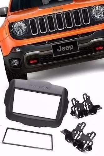 Moldura 2din Multimidia Jeep Renegade Pcd Completa Universal