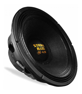 Woofer Eros E-18 Target Strike Bass 18 2250wrms 8 Ohms