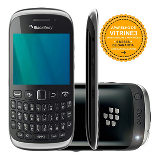 Celular Blackberry Curve 9320 Single 3g 2mp Preto Vitrine 3