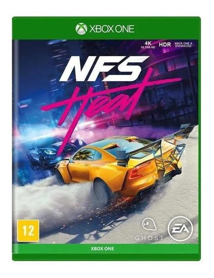 Need For Speed Heat Xbox One Mídia Física Novo Lacrado