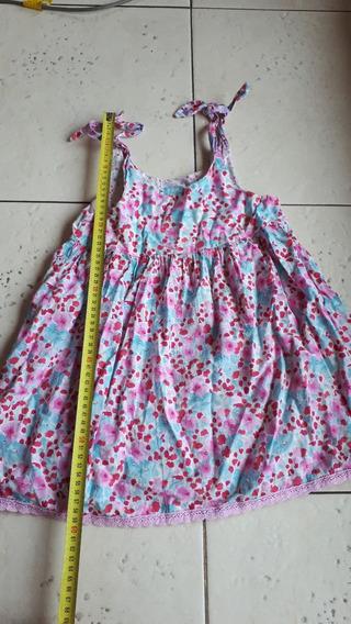 Vestidos Nena Talle 4 Años, Tamaño Adaptable