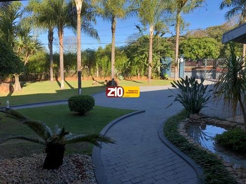 Ch01782 - Suntuosa Chácara Em Condomínio Fechado - Vale Das Laranjeiras Itaici - Z10 Imóveis - Ch01782 - 68112384