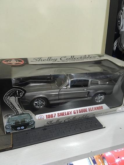 Miniatura Shelby Gt 500 E Eleanor Escala 1.18
