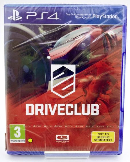 Driveclub Ps4 Mídia Física Português Br Lacrado Loja Física