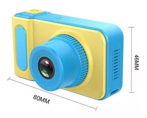 Câmera Digital Fotografica Kids Selfie 3.0m Pronto Entrega