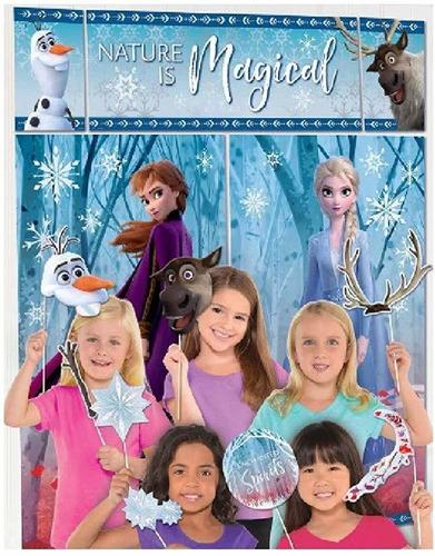 Frozen  Scene Setter Con Accesorios