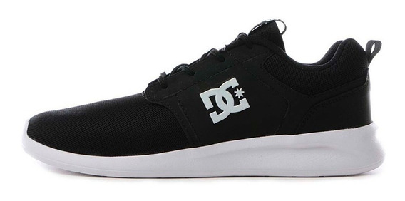 Tenis Hombre Midway Sn Adys700136 001 Dc Shoes Negro