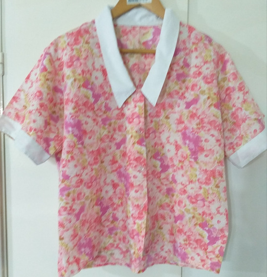 Camisa Mujer Floreada Impecable Lage