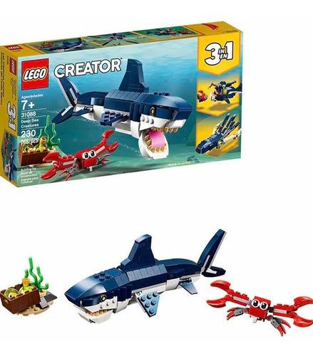 Lego Creator 230 Pzas 3 En 1 Deep Sea Creatures