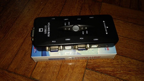 Switch Kvm Com 4 Portas Usb