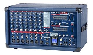 Mixer Pot. Consola Phonic Powerpod 750rw - Envio Gratis !!!