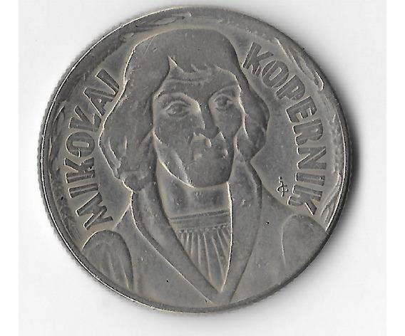 !!! Moneda Polonia 10 Groszy 1959 Nicolas Kopernicko !!!
