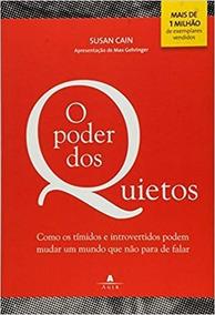 O Poder Dos Quietos - Susan Cain - Livro Físico Original