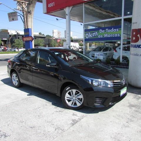 Corolla 1.8 Gli Upper Cvt 2017 Preto