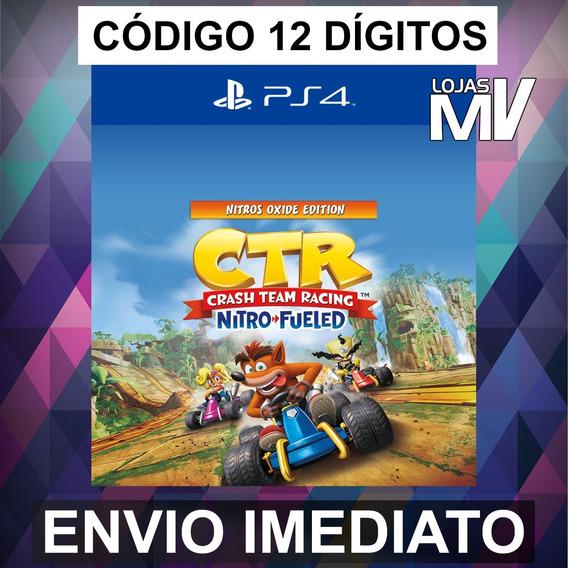 Crash Team Racing Nitros Oxide - Codigo Ps4 12 Digitos