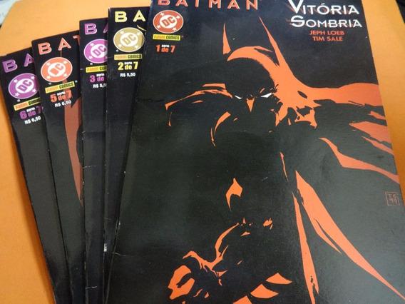 Coleção De Hq Batman Vitória Sombria 1,2,3,5 E 6 Dc Gibi