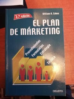 Libro De Marketing El Plan De Marketing William A. Cohen