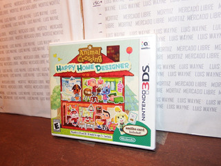 Videojuego Animal Crossing Nintendo 3ds Happy Home Designer