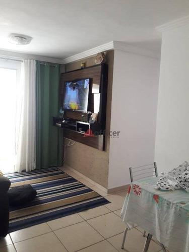 Apartamento À Venda, 65 M² Por R$ 297.000,00 - Jardim América - São José Dos Campos/sp - Ap0846