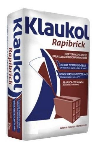 Pegamento Rapibrick 30kg Klaukol