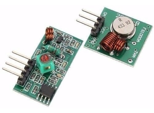 Kit Transmissor Receptor 433mhz + Regulador Lm2596